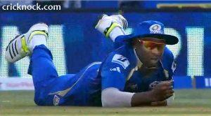 Kieron Pollard 3 drop catches video IPL