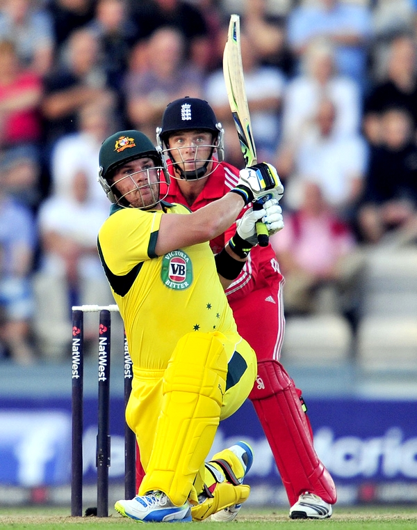 Aaron Finch 156 from 63 balls