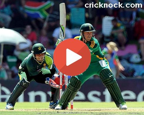 Watch Pakistan vs South Africa 1st ODI Cricket Highlights