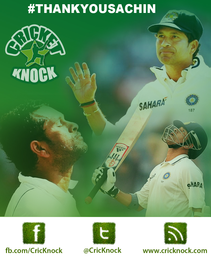 ThankYouSachin   The time is upon us - Sachin Tendulkar's Last Test Match