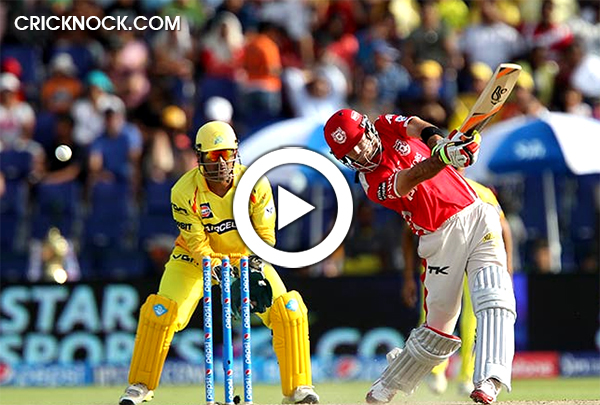 Glenn Maxwell Sixes in IPL7 - Video