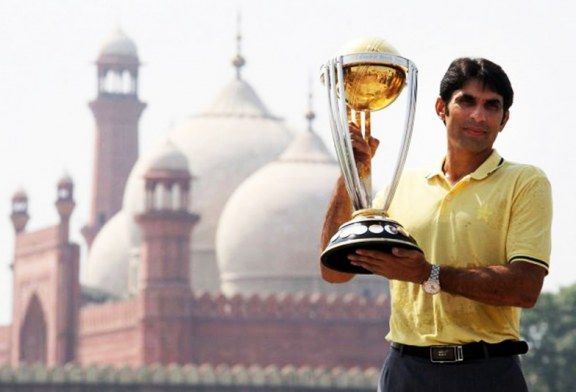 ICC Cricket World Cup 2015 Reaches Lahore, Pakistan [Gallery]