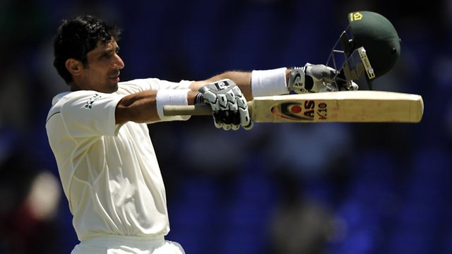 Fastest Test Century by Misbah ul Haq (Video)