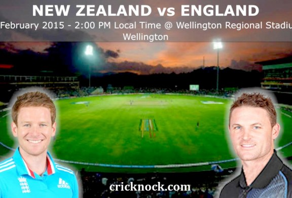 New Zealand vs England Highlights – ICC Cricket World Cup 2015