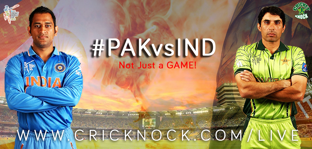 Watch Pakistan vs India Highlights - ICC Cricket World Cup 2015