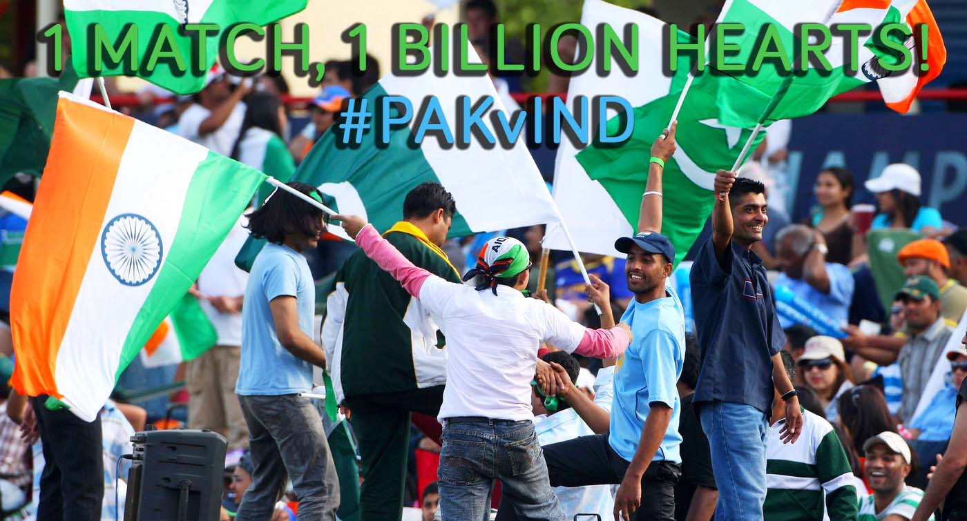 Join 1 Billion People To Watch Pakistan VS India Match in Cricket World Cup 2015