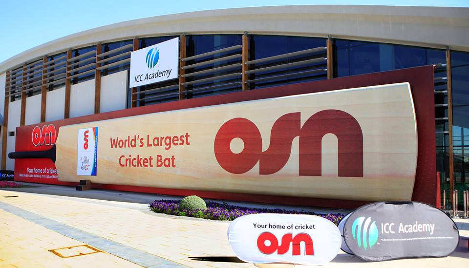 Largest Cricket Bat in the world