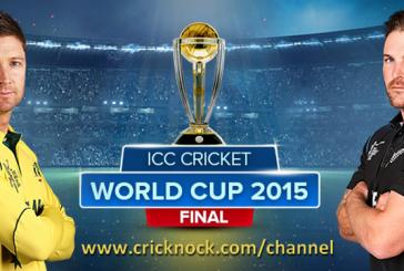 How to Watch Australia vs New Zealand ICC Cricket World Cup 2015 Final Online