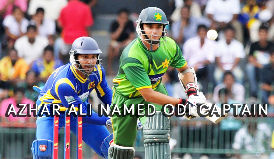 Azhar Ali named Pakistan's ODI Captain