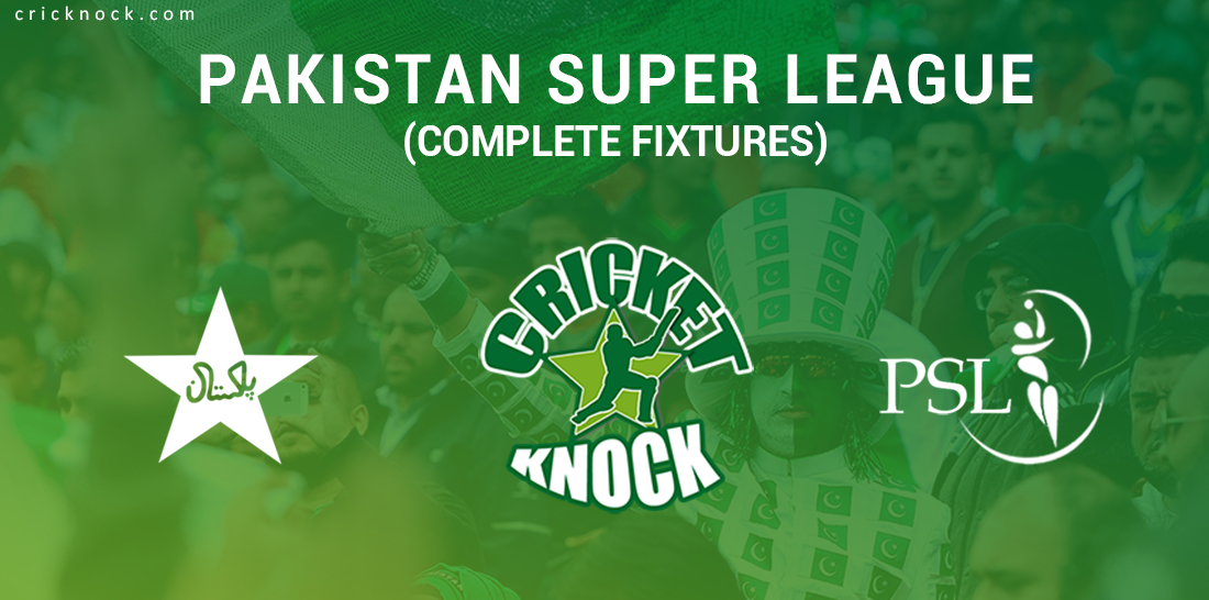Pakistan Super League Complete Fixtures