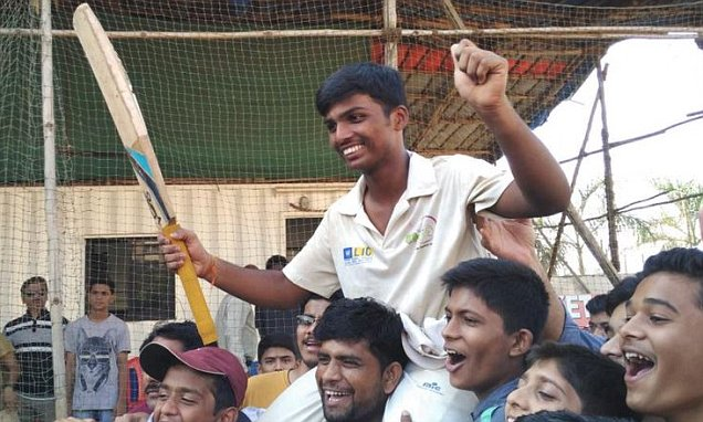 Pranav Dhanawade scores a Record 1,009