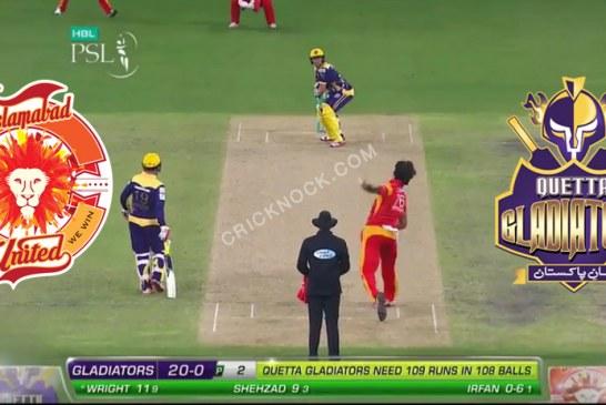 PSL T20 Match 1 | Watch Islamabad United vs Quetta Gladiators Highlights