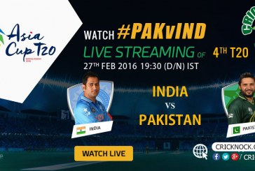 Watch Pakistan vs India Live – Asia Cup 2016