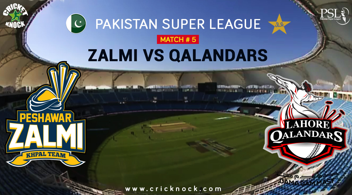 Peshawar Zalmi vs Lahore Qalandar Highlights