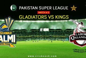 PSL T20 Match 5   Watch Peshawar Zalmi vs Lahore Qalandars Highlights