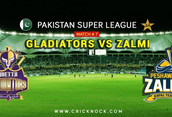 PSL T20 Match 7 | Watch Peshawar Zalmi vs Quetta Gladiators Highlights