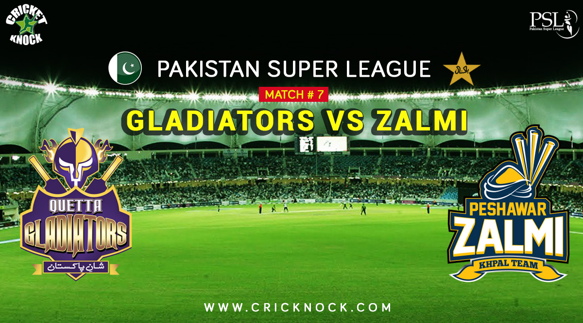 Watch Peshawar Zalmi vs Quetta Gladiators Highlights