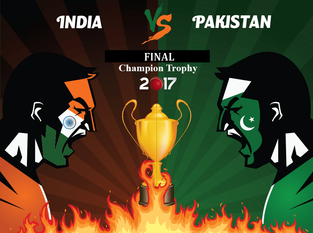 Champions Trophy 2017 Final - Pakistan Vs India