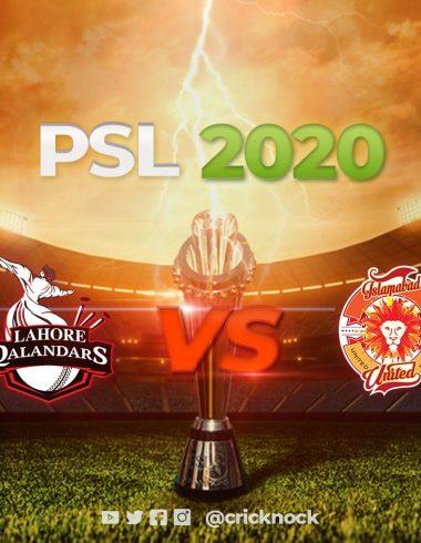 Lahore Qalandars vs Islamabad United